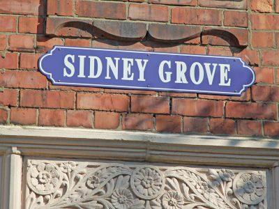 Sidney Grove Sign